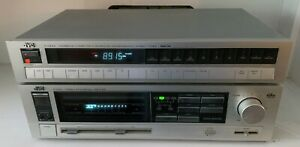 JVC Quartz Synthesizer Tuner T-X300 & Stereo Integrated Amplifier A-K300 BUNDLE