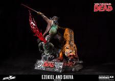 The Walking Dead Ezikiel & Shiva Limited Edition Resin Statue - UK Trader