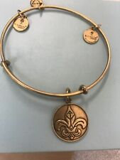 "NWT ALEX AND ANI ""FLEUR DE LIS"" GOLD-TONE BRACELET"