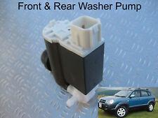 Front & Rear Windscreen Washer Pump For Hyundai Tucson 2004,05,06,07,08 2009