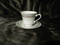International Porcelain- Illusion Cup and Saucer, Mint Condition