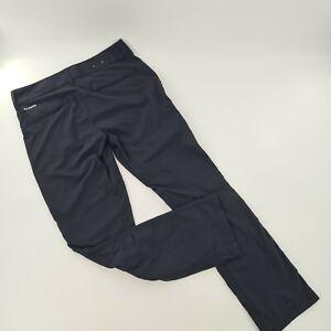 Columbia PFG Omni-Shade Black Roll Up Pants Women's Size 8/32L