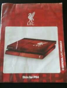LFC PS4 Skin. Liverpool Football Club Playstation 4 Four Sticker Cover Official