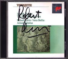 Robert LEVIN Signed HAYDN Last Piano Trio 27 28 29 30 Anner BYLSMA Vera BETHS CD