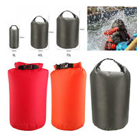8L 40L 70L Dry Carry Bag Sack Pouch Swimming Boat Kayak Waterproof Backpack