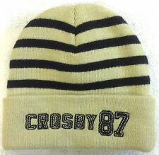 NHL Pittsburgh Penguins Crosby # 87 Cuffed Winter Knit Hat Cap Beanie NEW!