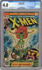 Uncanny X-Men #101 CGC 4.0 1976 3801186016 1st app. Phoenix, Black Tom Cassidy
