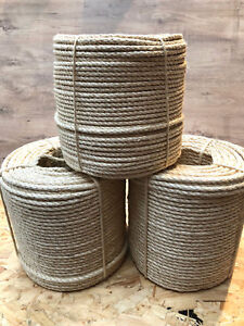 Sisal Rope Natural Various Sizes/Lengths From 6mm To 20mm Cat Scratcher,Decking