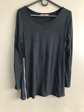 Belldini Size M (see Measurement) Black Tunic With Side Zippers