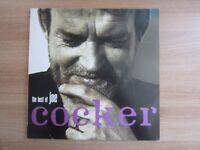 JOE COCKER – The Best Of Joe Cocker 1992 Korea Double Orig Vinyl LP INSERT