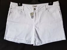 "WOMEN'S SHORTS TARGET COLLECTION STRETCH WHITE SIZE 18/36"" NWT FREE POSTAGE"