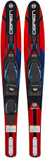 """New listing O'Brien Vortex Widebody Combo Water Skis 65.5"""", Red"""