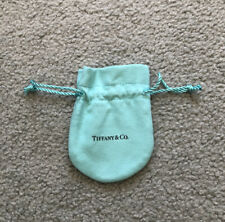 Genuine Tiffany And Co Pouch For Bracelet Necklace Earings