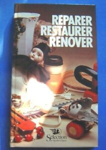 REPARER, RESTAURER, RENOVER - Selection 1982 -   TB état