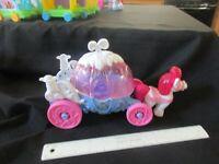Fisher Price Little People Disney Princess Coach seahorse sounds Cinderella