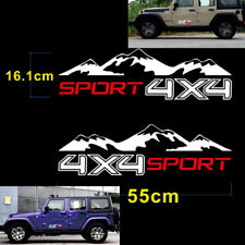 A Pair Of car stickers 4X4 Vinyl Auto Car Decorate Sticker Decal For Truck Decal