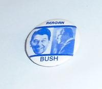 1980 pin Ronald REAGAN pinback George H. W. BUSH Photo JUGATE Campaign button #2