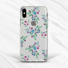 Watercolor Nature Floral Flower Girl Case For iPhone 6 7 8 Xs XR 11 Pro Plus Max