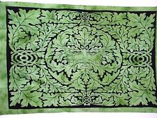 "Celtic Green Man Forest Spirit Tapestry Wall Hanging / Throw Size 86"" X 56"""