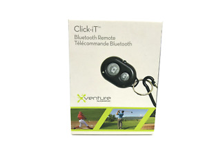 Click-It Bluetooth Remote for smartphone/tablet camera up to 30ft Xventure #6186