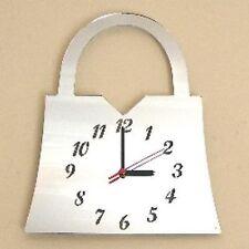 Handbag Mirrored Clock