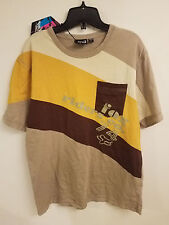 NOS Fox Riders Co. 74 Pocket T-Shirt w/ Tags...Dark Khaki...Large...Bike