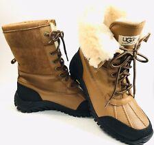 UGG Australia 5469 Adirondack II Womens 9 Leather Shearling Winter Boots NEW