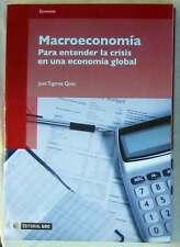 MACROECONOMÍA PARA ENTENDER LA CRISIS EN UNA ECONOMÍA GLOBAL - ED. UOC 2010