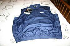 Footjoy Fj Men's Navy Performance Windshirt Vest With Flora-Bama Logo Nwt Sz Med