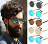 New Vintage Retro Polarized Steampunk Sunglasses Fashion Round Mirrored Eyewear