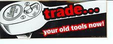NEW Vintage Snap-on Tools Trade Your Old ToolsNow  Tool Box Sticker Decal SS643
