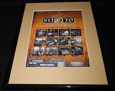 Mesa Engineering 2007 Stiletto Framed 11x14 ORIGINAL Vintage Advertisement