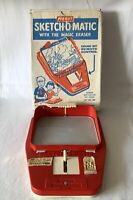 Boxed Working Vintage MERIT SKETCH-O-MATIC 6387 J L Randall Drawing Toy