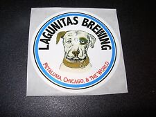 LAGUNITAS BREWING Dog Petaluma Chicago STICKER decal craft beer brewery