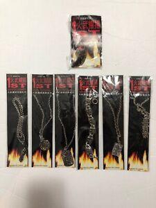 Lot of 7x Jewelry FIRE WU YAO YANG Magazine 1st Anniv. (MANHUA) Hong Kong 1990s
