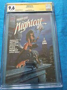 Nightcat #1 - Marvel - CGC SS 9.6 NM+ - Signed by Joe Jusko
