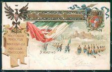 Militari Reggimentali 11º Reggimento Fanteria cartolina XF4412