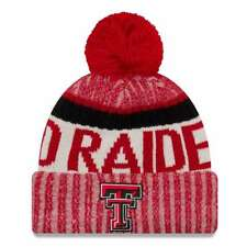best service 6e876 8558e Texas Tech Red Raiders New Era Sport Knit Beanie