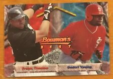FRANK THOMAS / DMITRI YOUNG, {1994} BOWMAN'S BEST CARD IN EXCELLENT CONDITION !