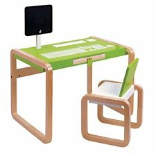 Janod 4509603 – Graffiti – Studio Bureau et Chaise Ensemble Pour Enfants