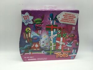 DreamWorks Trolls Holiday Countdown 12 Days Of Toy Surprises By Hasbro **New**