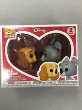 Disney Treasures Funko Pocket Pop! Ever After Lady and The Tramp Keychain 2 Pack