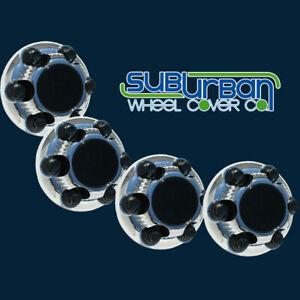 """Chevrolet & GMC 6 Lug Chrome Center Caps # C5129C Fits 16"""" / 17"""" Wheel Rim SET/4"""