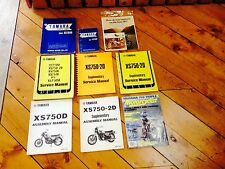 Yamaha XS 750 Manuals, Parts Lists, Magazine Ad and More!