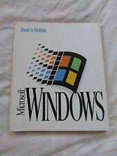 Microsoft Windows 3.1 User's Guide