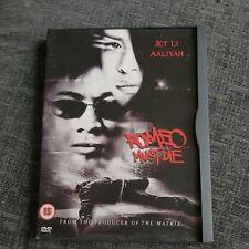 [DVD] Romeo Must Die, Jet Li, Cert 15, Free Postage.