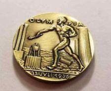 German Karl Goetz Medal Medallion coin Olympia BERLIN Olympics 1936