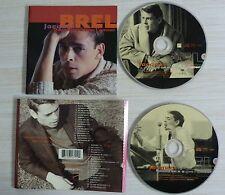 2 CD album QUAND ON N'A QUE L'AMOUR JACQUES BREL BEST OF 37 TITRES