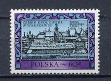 35841) POLAND 1972 MNH** Rebuilding of Warsaw Castle 1v.