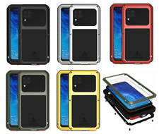For Huawei P40 Lite, 3D Shockproof Waterproof Gorilla Glass Metal Rugged Case